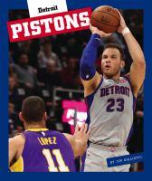 Detroit Pistons Book cover