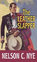 The leather slapper Book cover