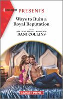 Ways to ruin a royal reputation Book cover