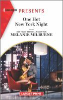 One hot New York night Book cover