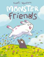 Monster friends Book cover