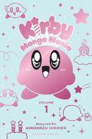 Kirby manga mania Book cover