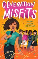 Generation misfits Book cover