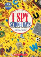 I spy school days : a book of picture riddles Book cover