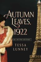 Autumn leaves, 1922 Book cover