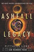 Ashfall legacy Book cover