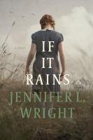 If it rains : a novel Book cover