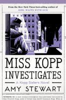 Miss Kopp investigates Book cover