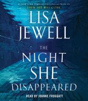 The night she disappeared Book cover