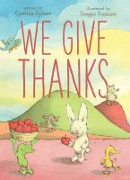 We give thanks Book cover