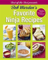 Bob Warden's favorite ninja recipes Book cover