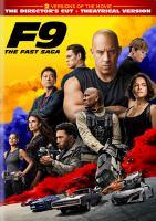 F9 : the fast saga Book cover