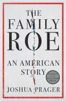 The family Roe : an American story Book cover