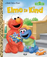 Elmo is kind Book cover