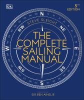 The complete sailing manual Book cover