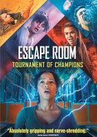 Escape room. Tournament of champions Book cover