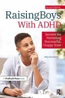 Raising boys with ADHD : secrets for parenting successful, happy sons Book cover