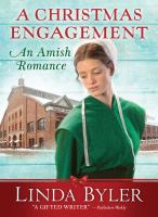 A Christmas engagement : an Amish romance Book cover