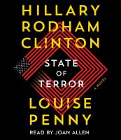 State of terror : a novel Book cover