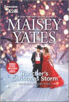 Rancher's Christmas storm and, Seduce me, cowboy Book cover