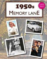1950s memory lane Book cover