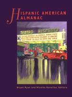Hispanic American almanac  Cover Image